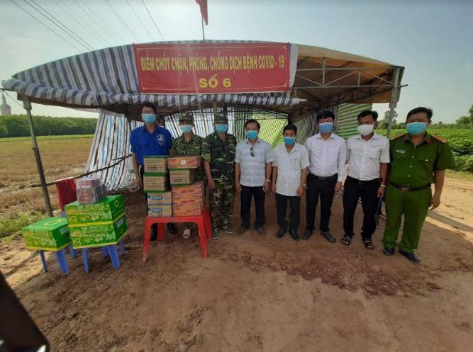 TAND hai cấp tỉnh Tây Ninh chung tay đẩy lùi dịch Covid-19