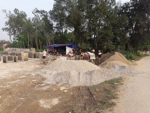 TP.Vinh (Nghệ An): Nhiều nghi vấn tại công trình của UBND xã Nghi Phú