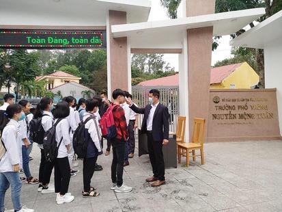 Học sinh Thanh Hóa sẽ trở lại trường vào tuần sau