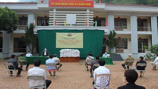 TAND tỉnh Sơn La chung tay cùng cộng đồng phòng, chống dịch Covid-19