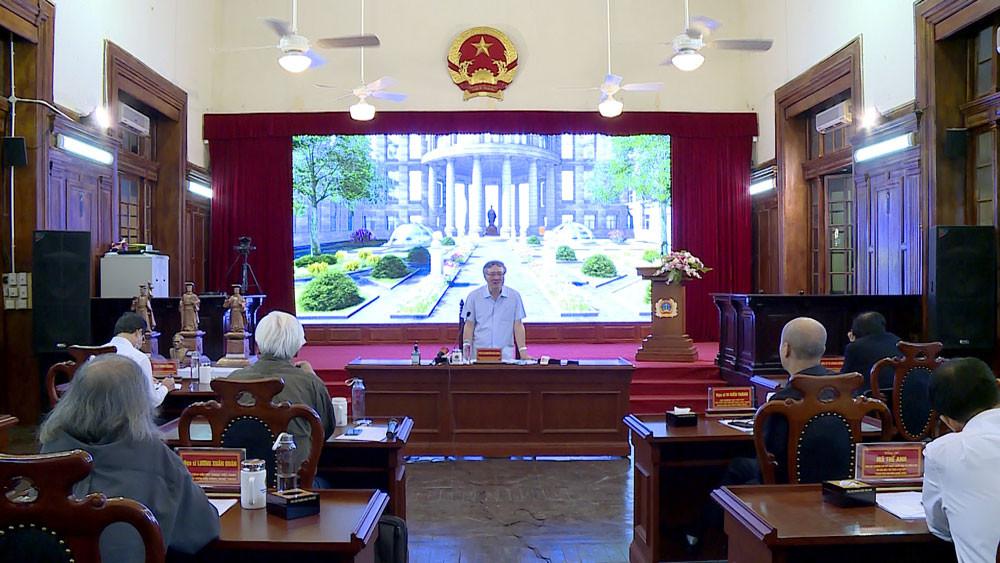 Chánh án TANDTC Nguyễn Hòa Bình: Xây dựng tượng Vua Lý Thái Tông sẽ không dùng tiền ngân sách