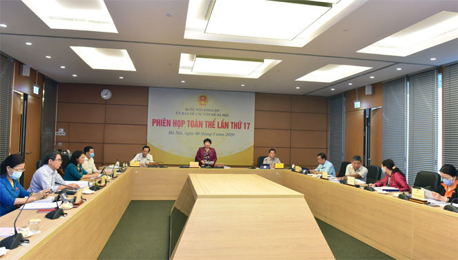 Ủy ban Về các vấn đề xã hội họp Phiên toàn thể lần thứ 17