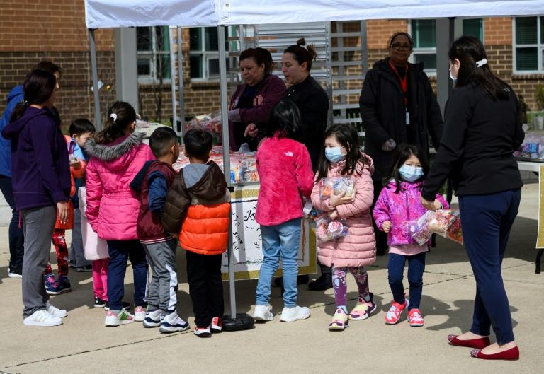 Gần một phần năm trẻ em Mỹ bị đói do khủng hoảng Covid-19