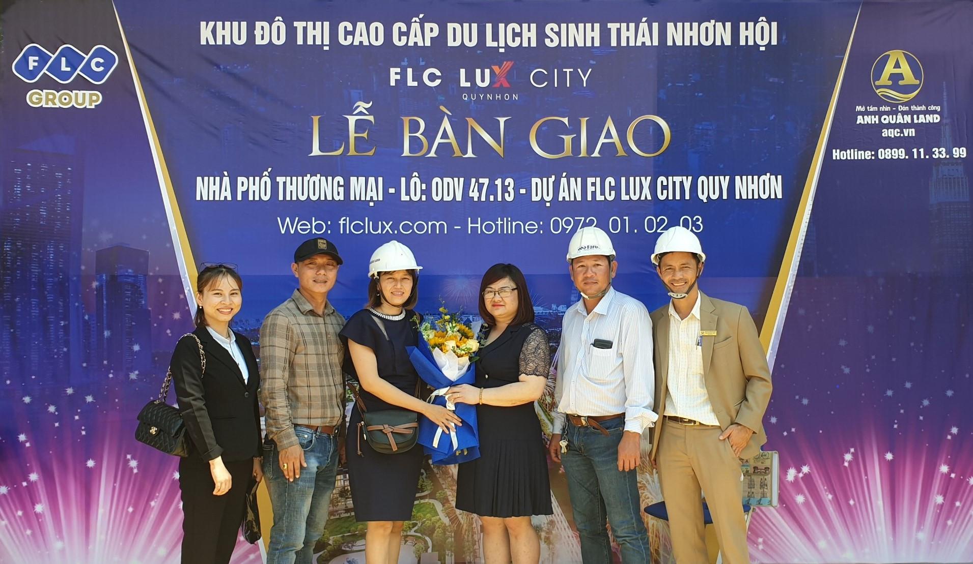 Shophouse FLC Lux City Quy Nhơn chào đón các tân chủ nhân đầu tiên