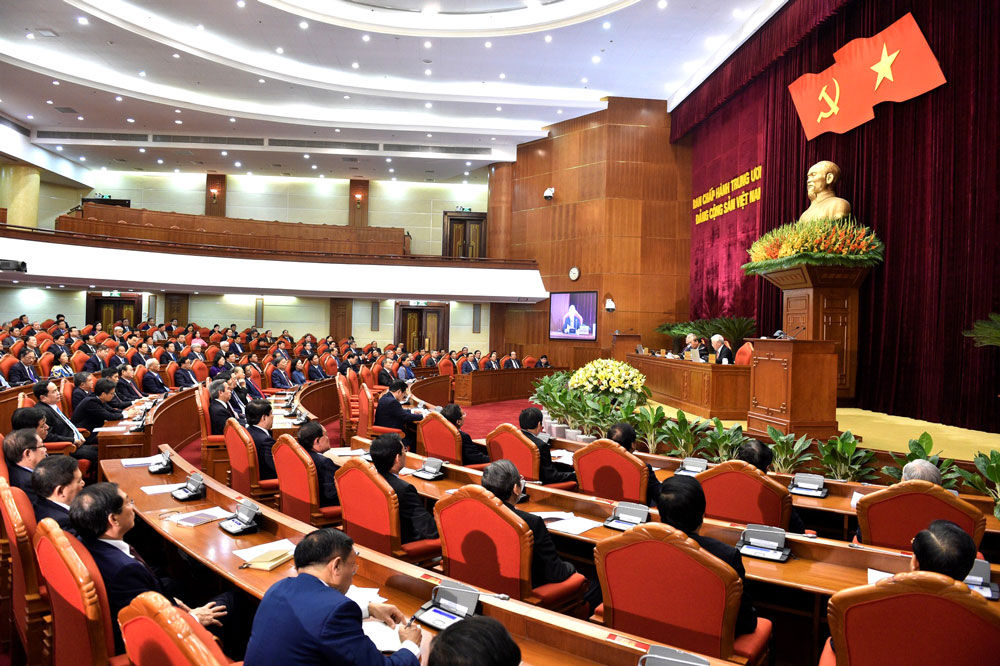 Bế mạc Hội nghị lần thứ 12 Ban Chấp hành Trung ương Đảng