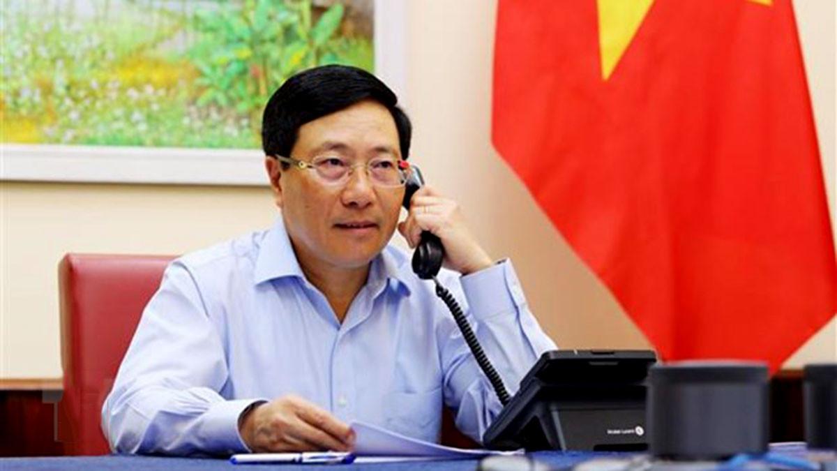Việt Nam sẵn sàng hợp tác với Canada phục hồi thương mại và chuỗi cung ứng toàn cầu