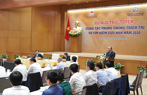 Thủ tướng: Phải thích nghi và phát triển trước thiên tai