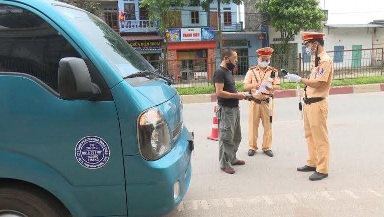 Thái Nguyên: Ngày đầu tổng kiểm tra phương tiện giao thông
