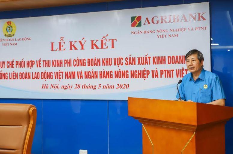 Agribank và Tổng Liên đoàn Lao động Việt Nam ký kết Quy chế hợp tác toàn diện