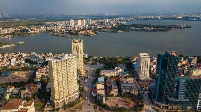 Điểm sáng đầu tư bất động sản khu vực Tây Hồ Tây
