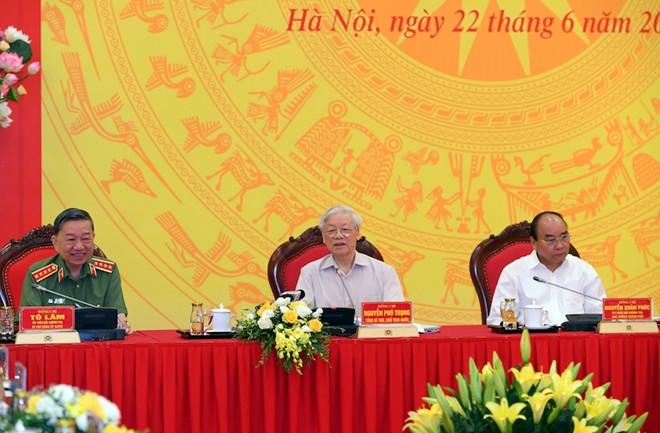 Tổng Bí thư, Chủ tịch nước: Công an phải tham gia vào làm nhân sự các cấp