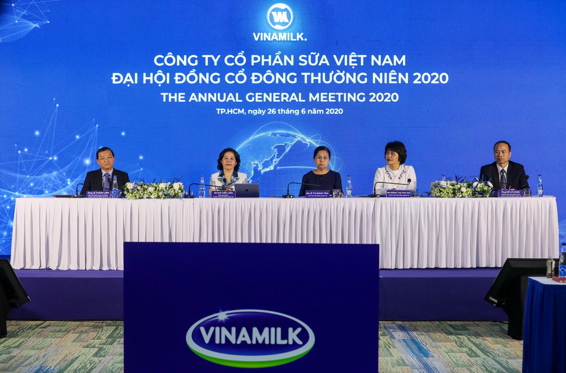 Dù khó khăn trong Covid-19, Vinamilk vẫn đặt mục tiêu tăng trưởng dương trong năm 2020
