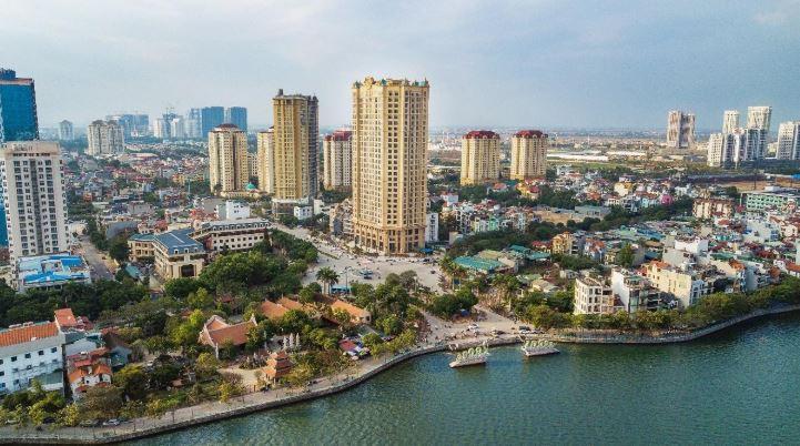 Quận Tây Hồ điểm đến của bất động sản cao cấp tương lai