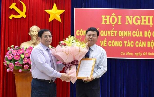 Bộ Chính trị chuẩn y ông Nguyễn Tiến Hải làm Bí thư Tỉnh ủy Cà Mau