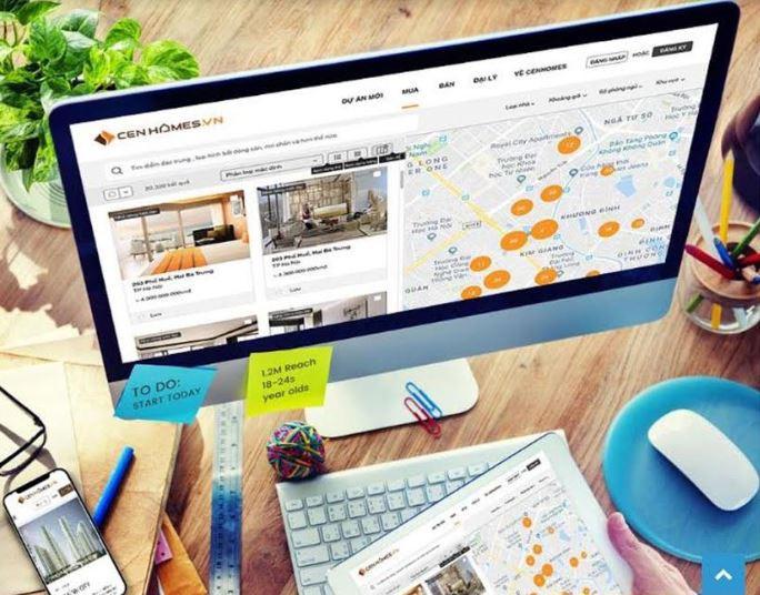 Cen Homes thu hút hàng triệu người dùng sau một năm ra mắt