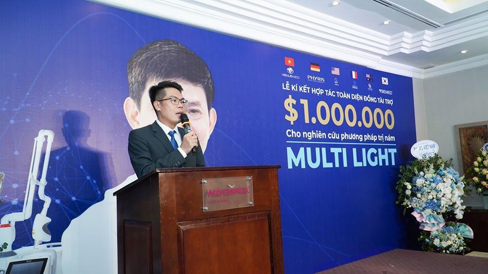 Multi Light đánh dấu sự hợp tác triệu đô giữa ZACY&VENUS MEDI