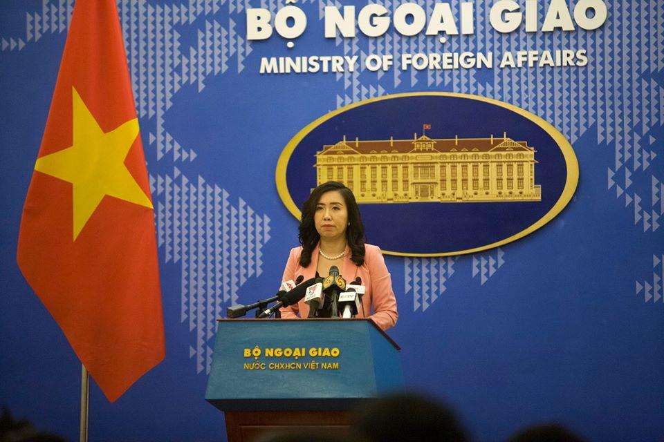 Việt Nam phản ứng trước tuyên bố về lập trường của Mỹ ở Biển Đông