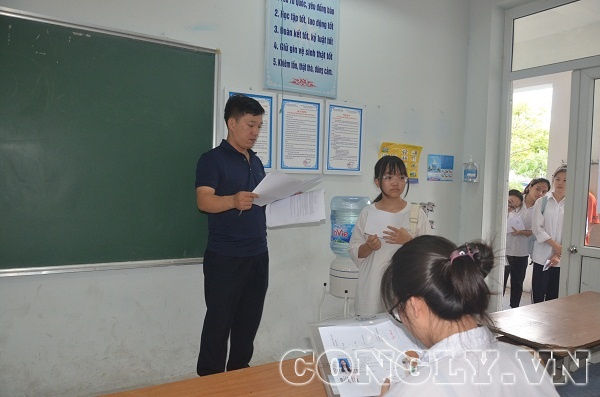 Môn thi ngoại ngữ vào lớp 10 ở Hà Nội: 469 thí sinh vắng mặt