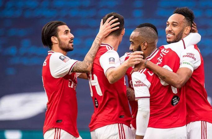 Aubameyang tạo cú đúp, Arsenal thẳng tiến vào chung kết FA Cup