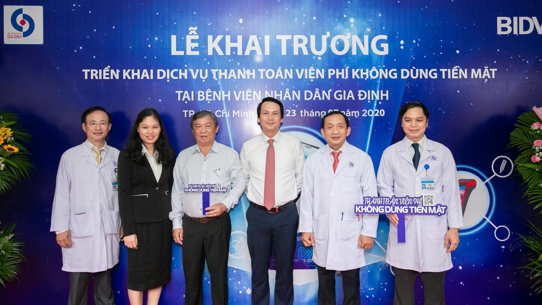 BIDV và Bệnh viện Nhân dân Gia Định triển khai dịch vụ thanh toán viện phí không dùng tiền mặt