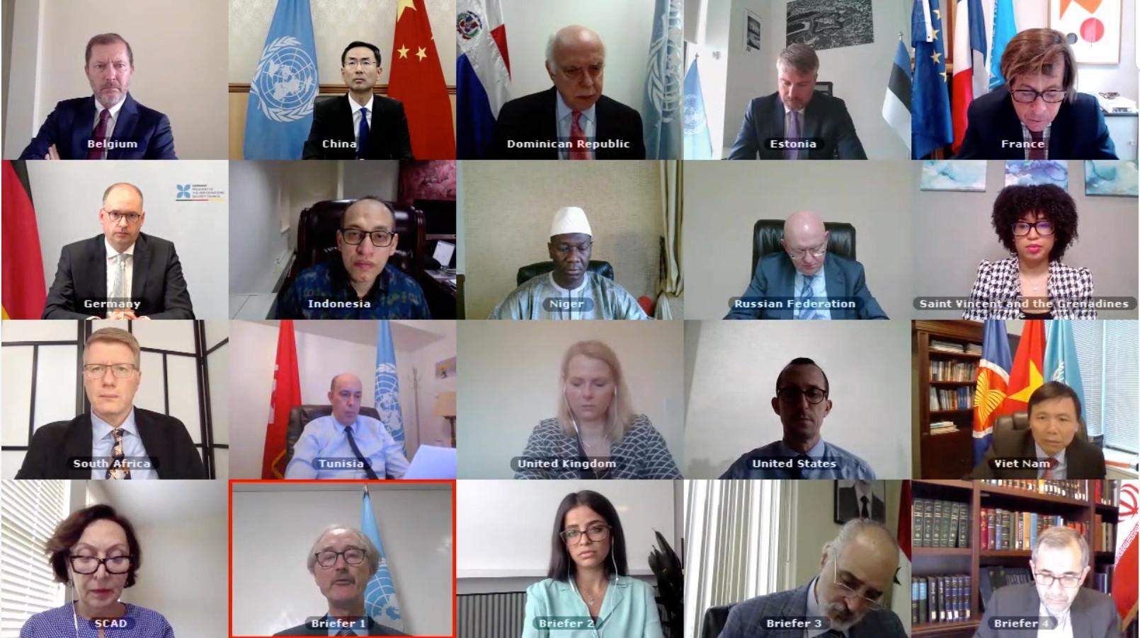 Việt Nam kêu gọi hỗ trợ khả năng ứng phó COVID-19 cho Syria