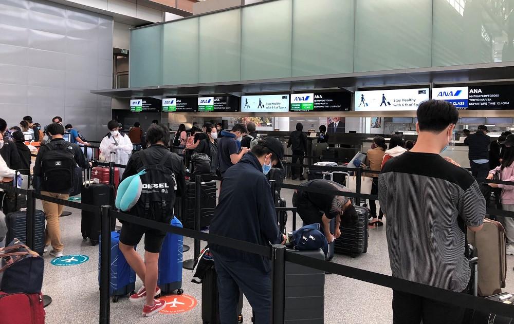 Gần 300 công dân Việt Nam từ Mỹ, Nhật Bản về nước an toàn