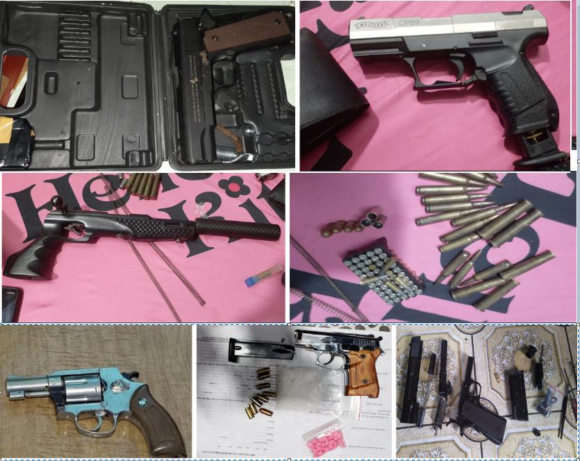 An Giang phá chuyên án ma túy, thu giữ 7 khẩu súng