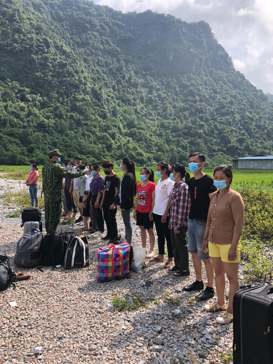 Cao Bằng: Phát hiện thêm 26 đối tượng vượt biên vào Việt Nam