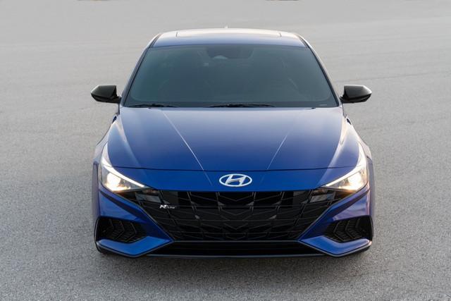 Hyundai Elantra sẽ có thêm phiên bản N Line 2021