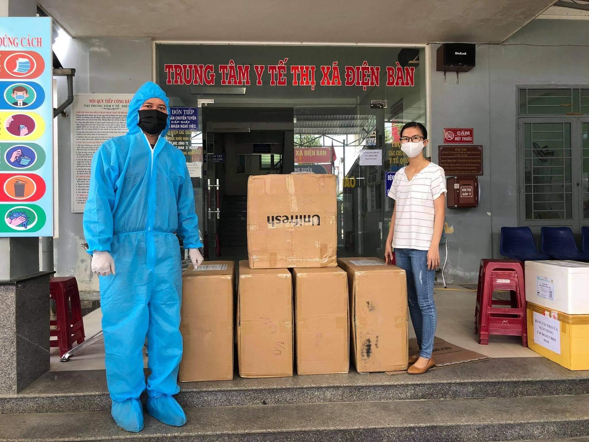 Doanh nhân Michael Dương tặng 10.000 khẩu trang cho người dân Quảng Nam