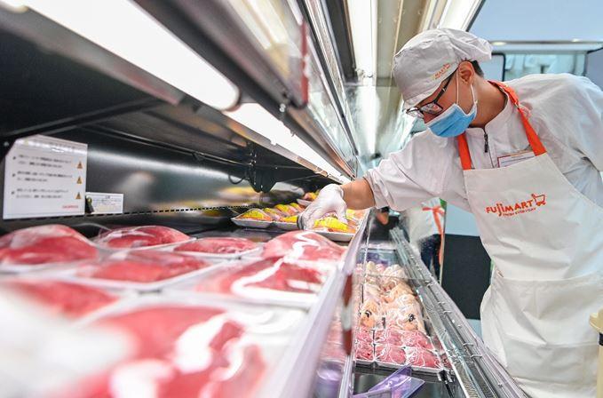 Chính thức khai trương siêu thị FujiMart thứ 2 tại 36 Hoàng Cầu, Hà Nội