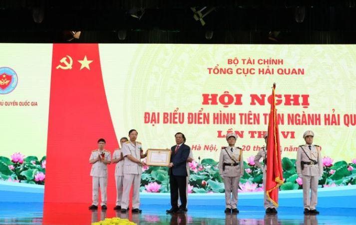 Tổng cục Hải quan đón nhận Huân chương Lao động hạng Nhất