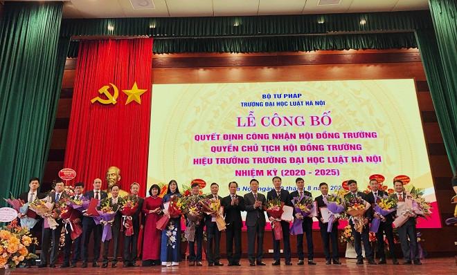 TS Đoàn Trung Kiên làm Hiệu trưởng Trường ĐH Luật Hà Nội