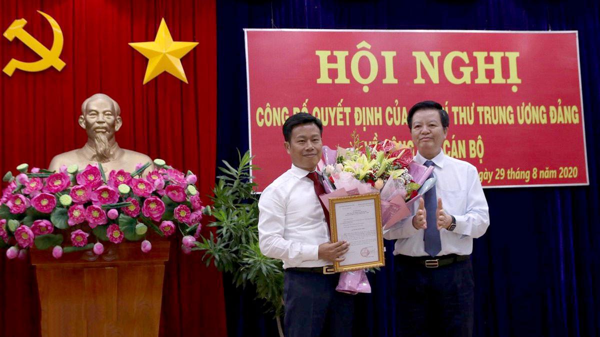 Thứ trưởng Bộ LĐTB&XH Lê Quân nhận nhiệm vụ mới
