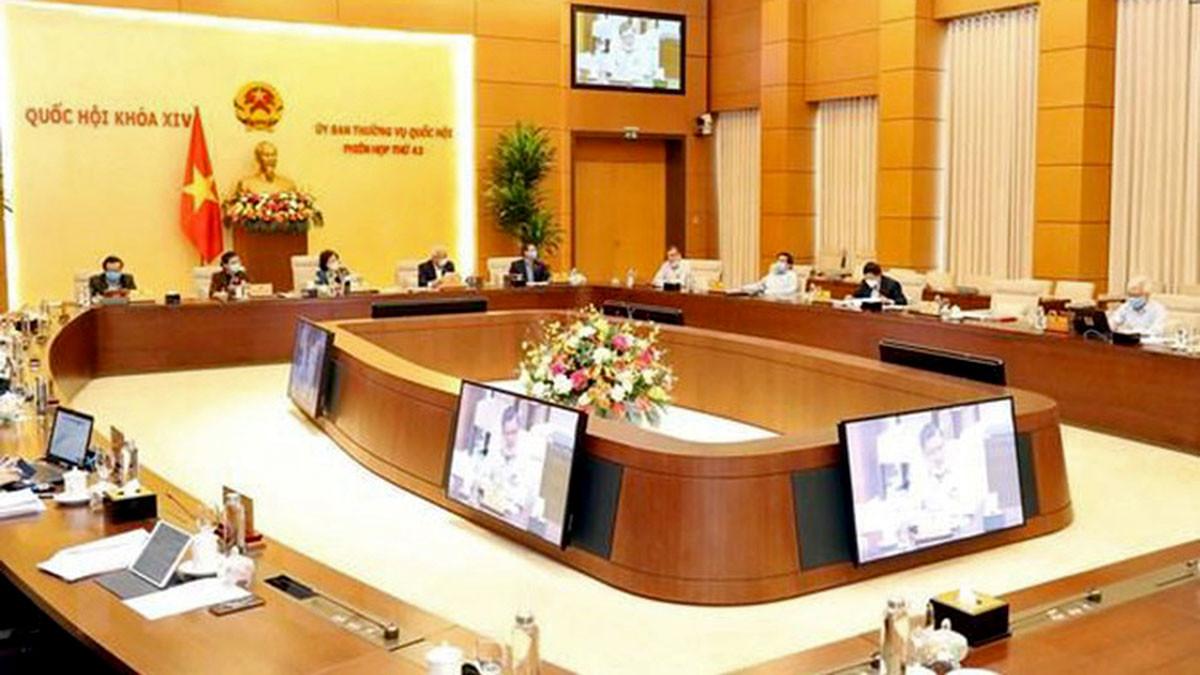 Ủy ban Thường vụ Quốc hội ban hành 3 Nghị quyết về nhân sự