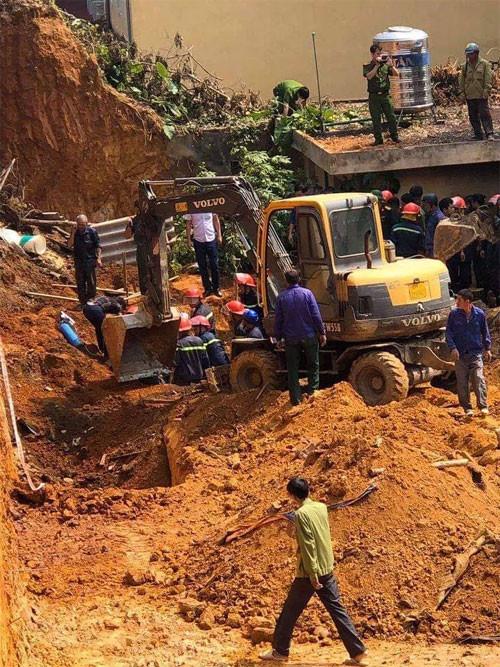 Phú Thọ: Sập công trình đang thi công, ít nhất 3 người chết