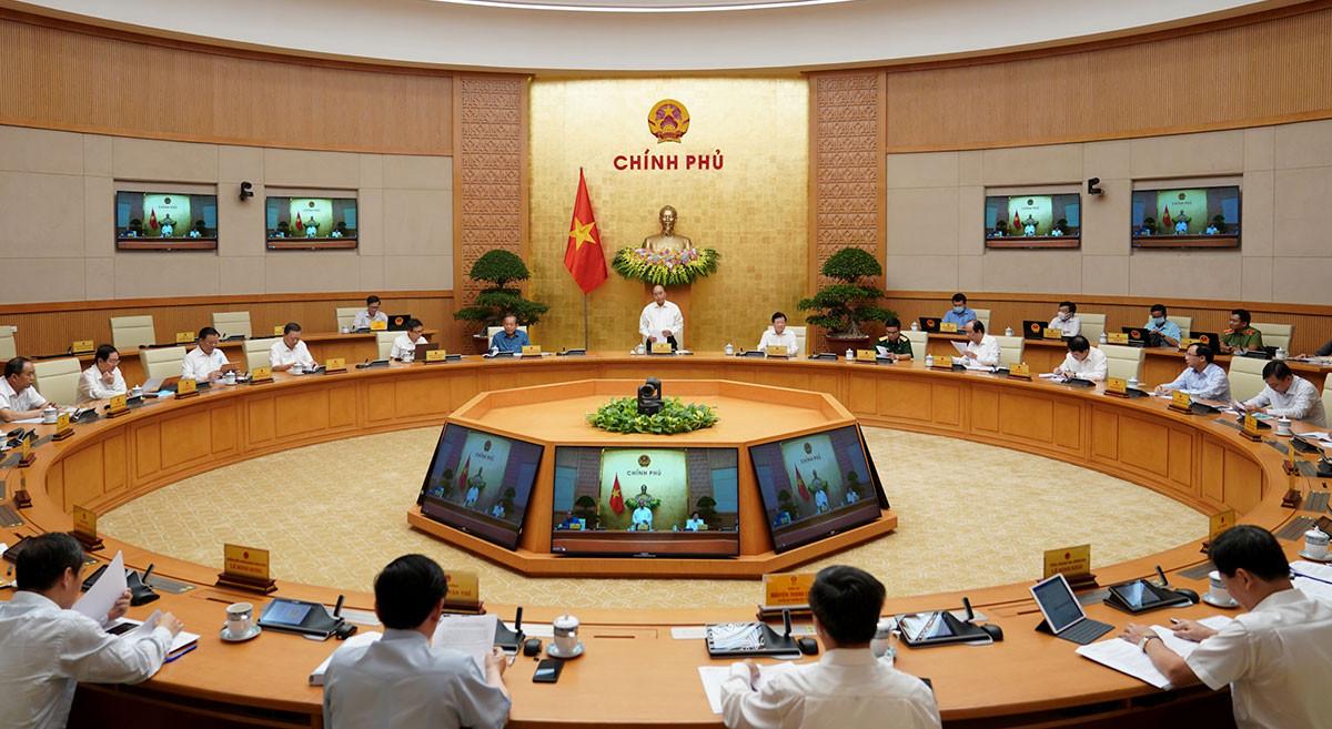 Chính phủ ra Nghị quyết phiên họp chuyên đề xây dựng pháp luật tháng 8