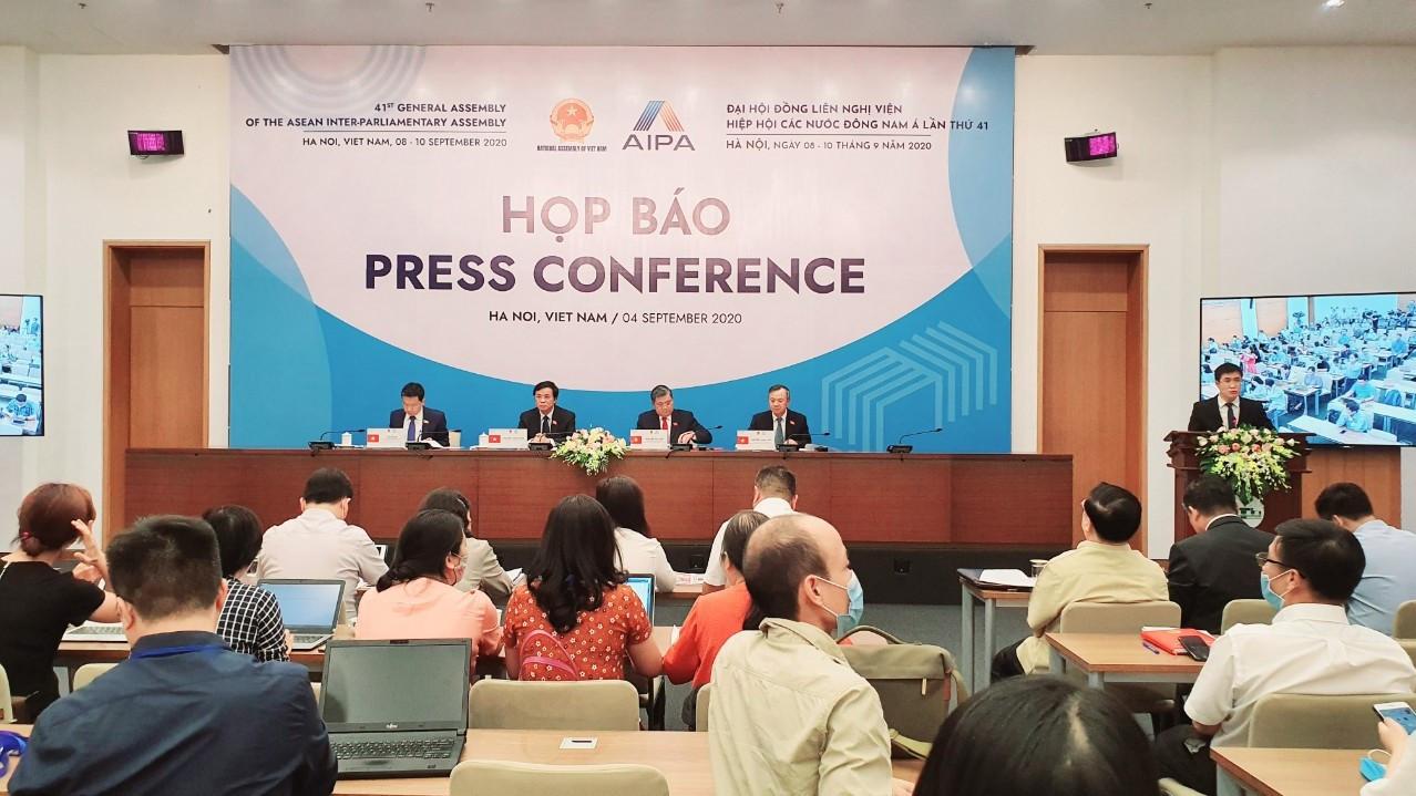 Họp báo về Đại hội đồng AIPA lần thứ 41
