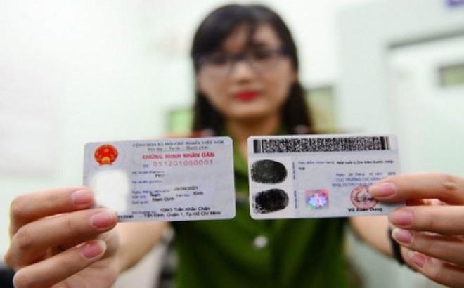 Phê duyệt dự án thẻ căn cước công dân gắn chip
