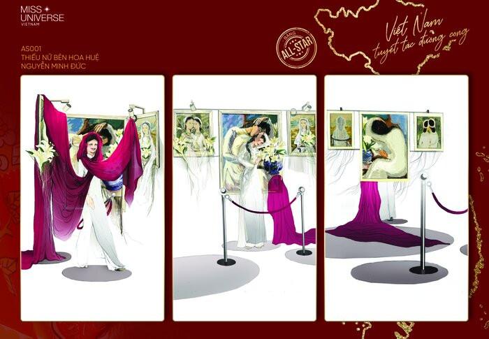 Võ Hoàng Yến - H'Hen Niê làm giám khảo chấm Trang phục dân tộc cho Khánh Vân, lộ diện 2 thiết kế được cứu vào Top 9 Ảnh 8