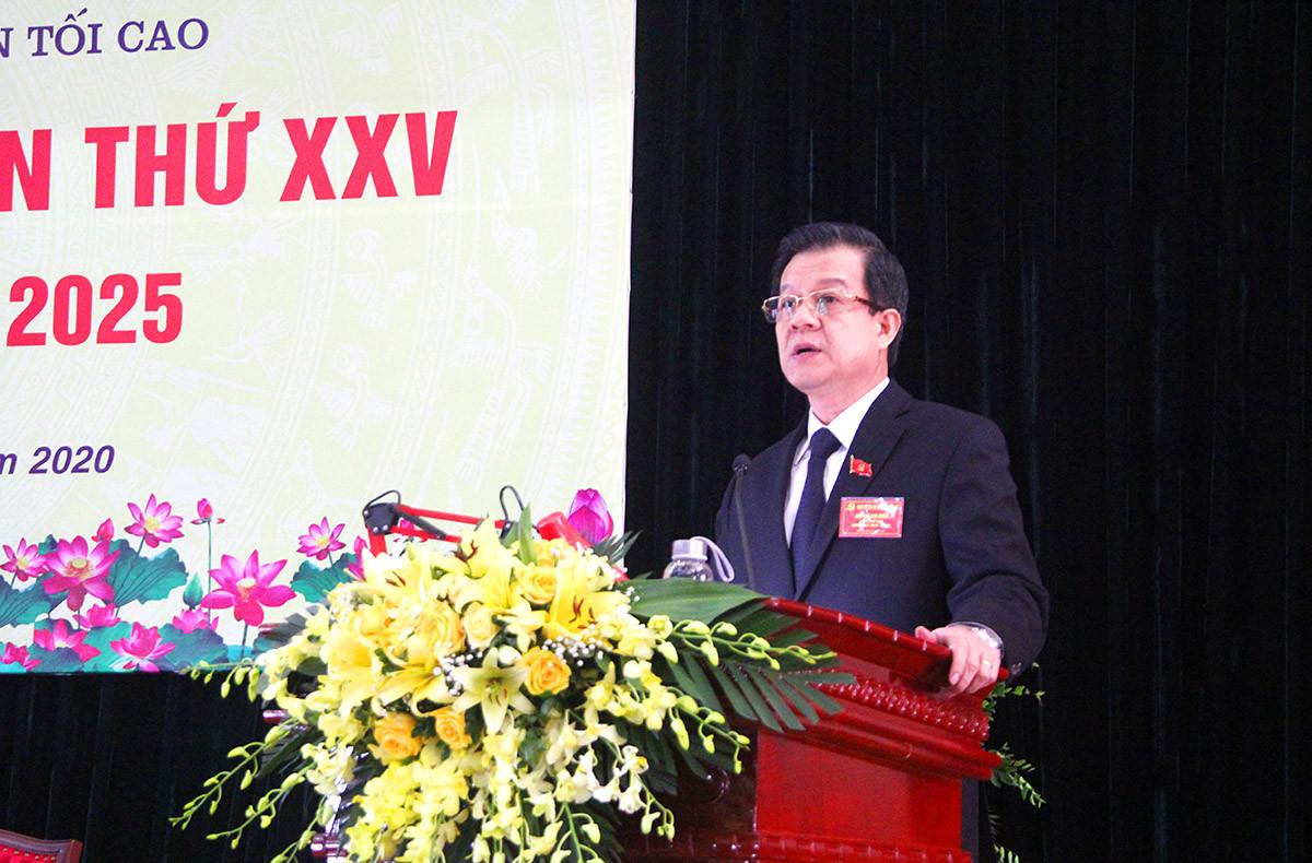 Đại hội Đảng bộ TANDTC nhiệm kỳ 2020-2025 thành công tốt đẹp