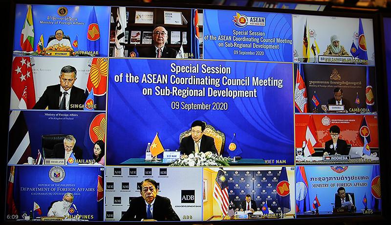 Các nước đánh giá cao Việt Nam đã nỗ lực dẫn dắt Cộng đồng ASEAN vượt qua thách thức