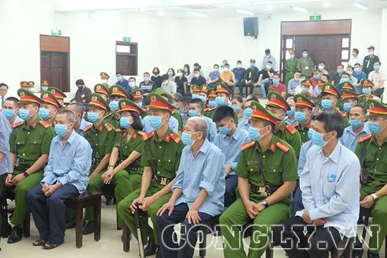 Nhiều bị cáo tiếp tục nói lời hối hận trong vụ án xảy ra tại Đồng Tâm