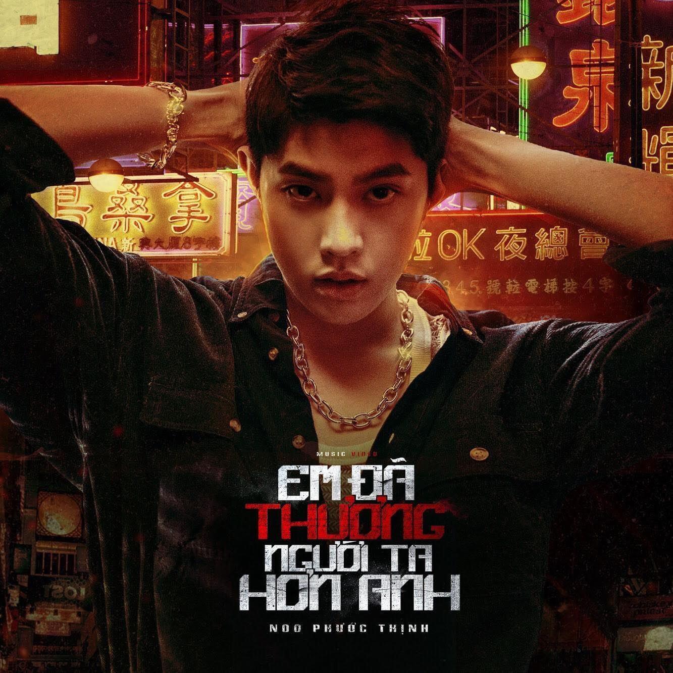 """Noo Phước Thịnh """"khóa môi"""" bạn diễn cực ngọt trong MV mới"""