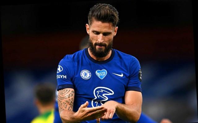 Olivier Giroud chuẩn bị cập bến Juventus