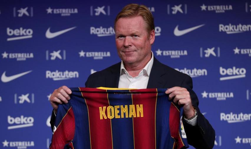 Koeman ngụ ý về lối chơi khác của Barca sau chiến thắng giao hữu