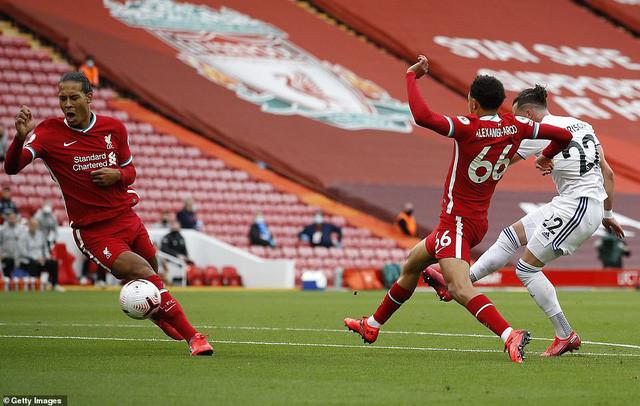 Liverpool giành 3 điểm kịch tính trước Leeds United ở vòng 1 Ngoại hạng Anh