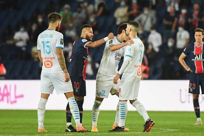 Neymar có thể bị phạt nặng sau pha đánh nguội cầu thủ Marseille
