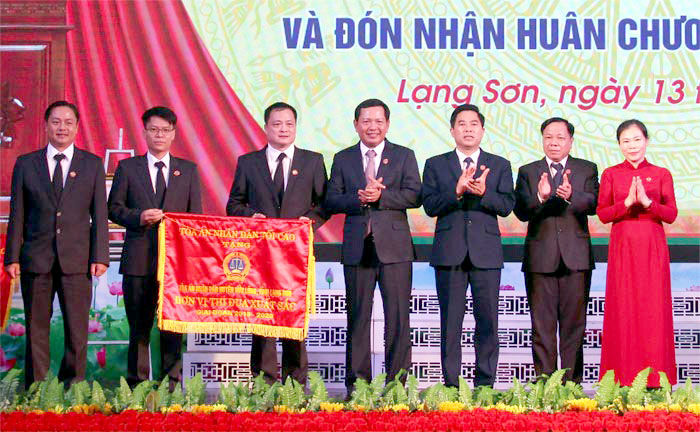 TAND tỉnh Lạng Sơn tổ chức lễ kỷ niệm 75 năm ngày truyền thống TAND