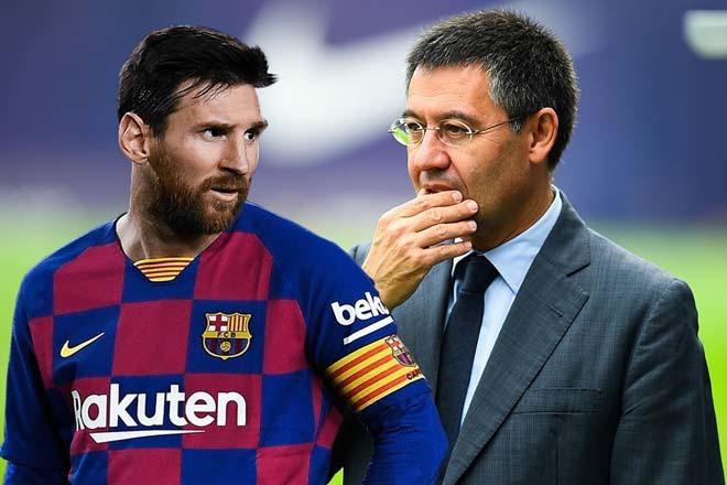 Barca yêu cầu Messi giảm lương